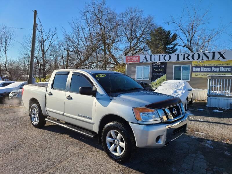 2010 Nissan Titan for sale at Auto Tronix in Lexington KY