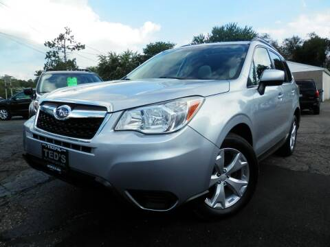 2014 Subaru Forester for sale at Ted's Auto Sales in Louisville OH