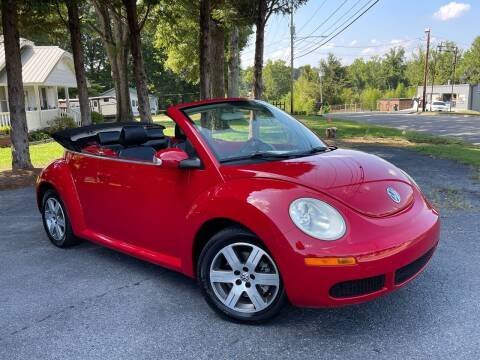 2006 Volkswagen New Beetle Convertible for sale at Mike's Wholesale Cars in Newton NC