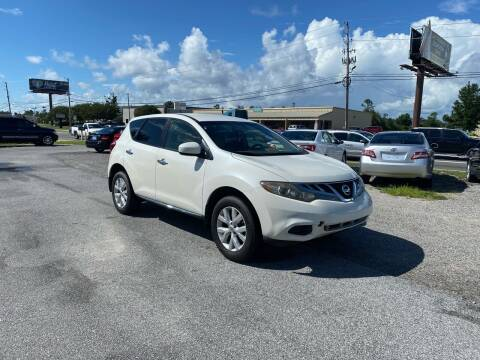 2012 Nissan Murano for sale at Lucky Motors in Panama City FL