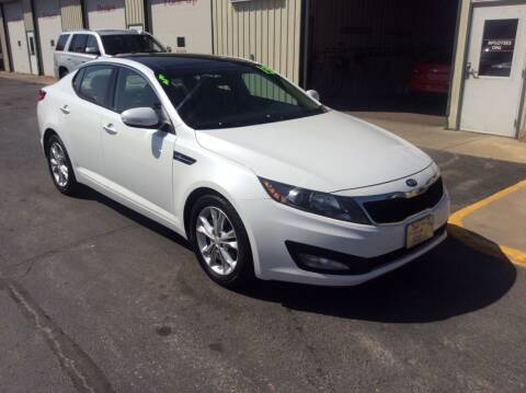 2013 Kia Optima for sale at TRI-STATE AUTO OUTLET CORP in Hokah MN