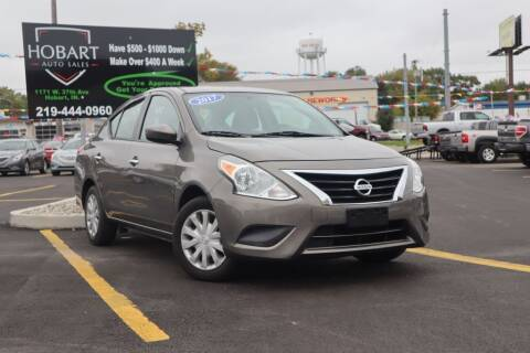 2017 Nissan Versa for sale at Hobart Auto Sales in Hobart IN