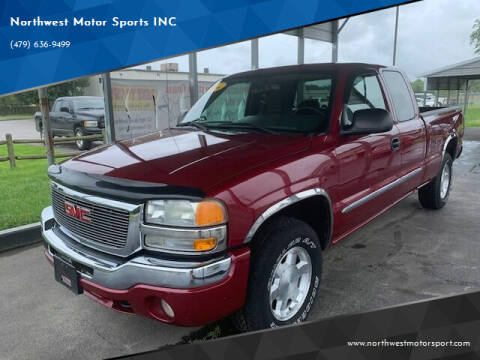 2004 GMC Sierra 1500 for sale at Northwest Motor Sports INC in Rogers AR