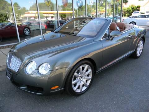 2007 Bentley Continental for sale at Platinum Motorcars in Warrenton VA