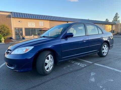2004 Honda Civic for sale at Exelon Auto Sales in Auburn WA