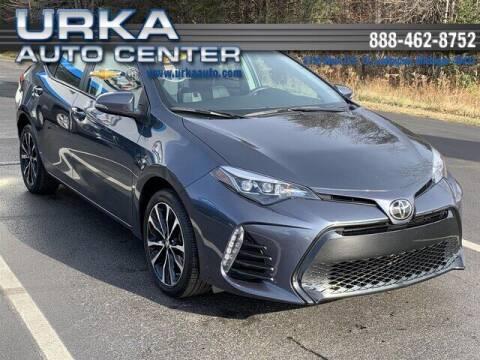 2018 Toyota Corolla for sale at Urka Auto Center in Ludington MI