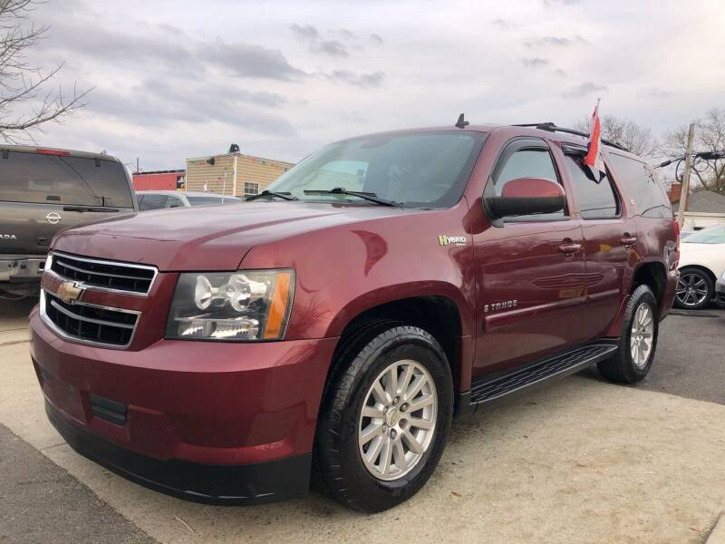 2009 Chevrolet Tahoe for sale at Crestwood Auto Center in Richmond VA