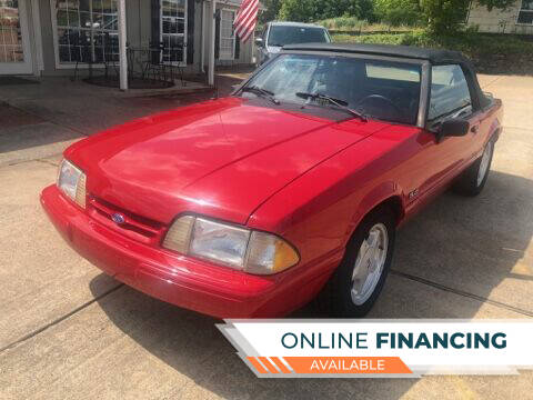 1992 Ford Mustang for sale at Taylor Auto Sales in Springdale AR