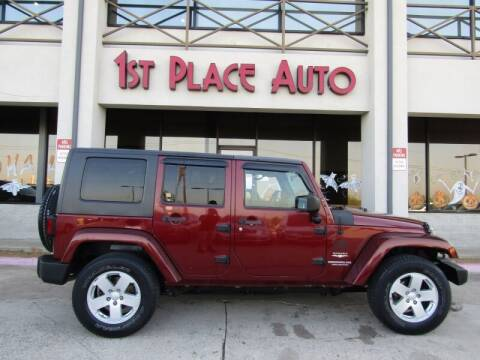 2010 Jeep Wrangler Unlimited for sale at First Place Auto Ctr Inc in Watauga TX