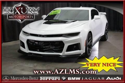 2019 Chevrolet Camaro for sale at Luxury Motorsports in Phoenix AZ