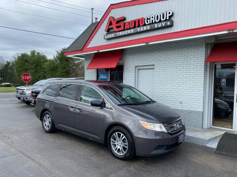 2012 Honda Odyssey for sale at AG AUTOGROUP in Vineland NJ