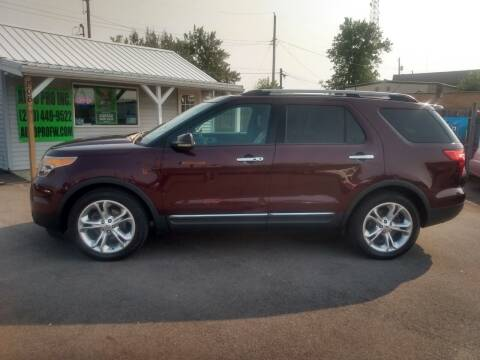 2011 Ford Explorer for sale at Auto Pro Inc in Fort Wayne IN