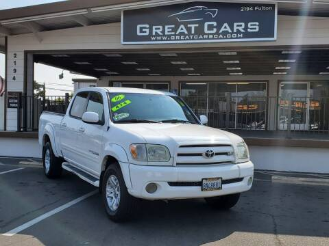 2006 Toyota Tundra for sale at Great Cars in Sacramento CA