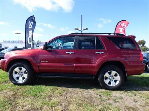 2006 Toyota 4Runner for sale at National Motors in San Diego CA
