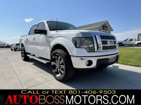 2011 Ford F-150 for sale at Auto Boss in Woods Cross UT