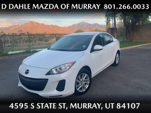 2012 Mazda MAZDA3 for sale at D DAHLE MAZDA OF MURRAY in Salt Lake City UT