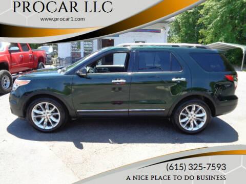 2013 Ford Explorer for sale at PROCAR LLC in Portland TN