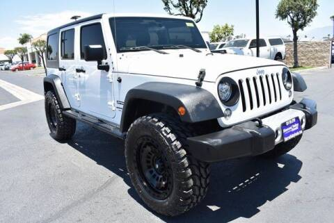 2018 Jeep Wrangler JK Unlimited for sale at DIAMOND VALLEY HONDA in Hemet CA