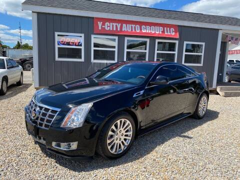2012 Cadillac CTS for sale at Y City Auto Group in Zanesville OH