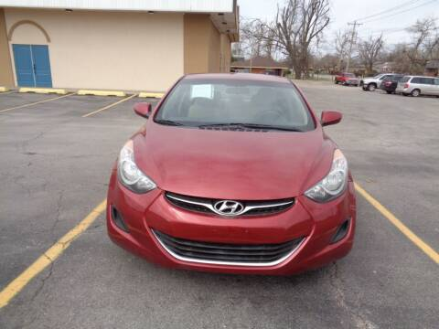 2013 Hyundai Elantra for sale at AUTO PRO in Oklahoma City OK