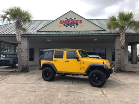2015 Jeep Wrangler Unlimited for sale at Rabeaux's Auto Sales in Lafayette LA