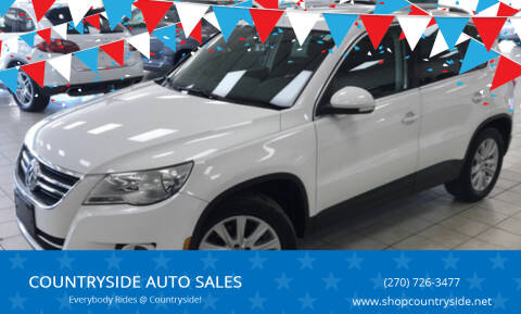2009 Volkswagen Tiguan for sale at COUNTRYSIDE AUTO SALES in Russellville KY