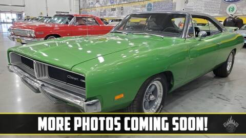 1969 Dodge Charger for sale at UNIQUE SPECIALTY & CLASSICS in Mankato MN