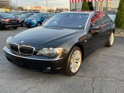 2008 BMW 7 Series for sale at Mack 1 Motors in Fredericksburg VA