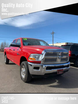 2012 RAM Ram Pickup 2500 for sale at Quality Auto City Inc. in Laramie WY