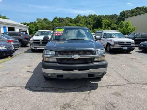 2003 Chevrolet Silverado 2500HD for sale at Sandy Lane Auto Sales and Repair in Warwick RI