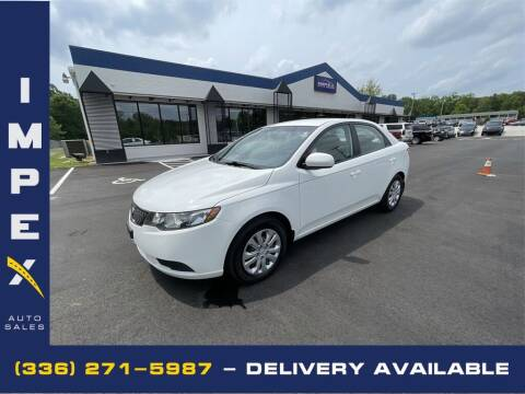 2013 Kia Forte for sale at Impex Auto Sales in Greensboro NC