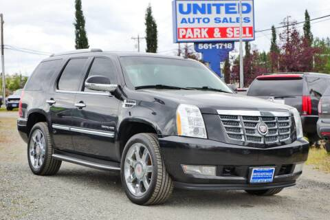 2012 Cadillac Escalade for sale at United Auto Sales in Anchorage AK