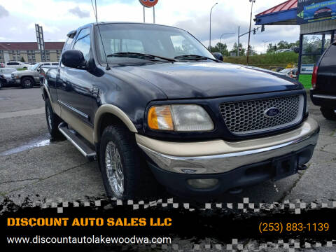 1999 Ford F-150 for sale at DISCOUNT AUTO SALES LLC in Spanaway WA