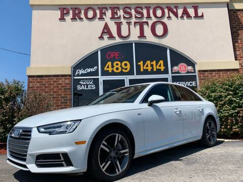 2017 Audi A4 for sale at Professional Auto Sales & Service in Fort Wayne IN