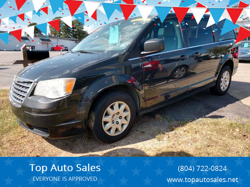 2010 Chrysler Town and Country for sale at Top Auto Sales in Petersburg VA