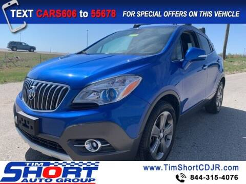 2014 Buick Encore for sale at Tim Short Chrysler in Morehead KY