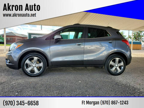 2014 Buick Encore for sale at Akron Auto - Fort Morgan in Fort Morgan CO