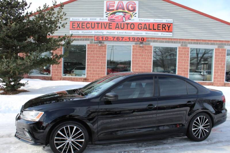 2016 Volkswagen Jetta for sale at EXECUTIVE AUTO GALLERY INC in Walnutport PA