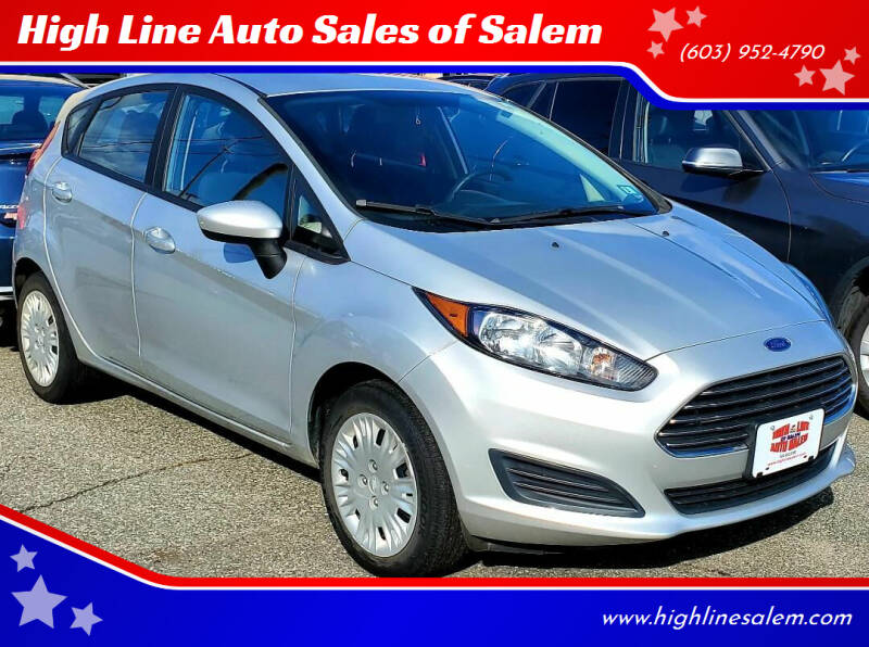 2016 Ford Fiesta for sale at High Line Auto Sales of Salem in Salem NH