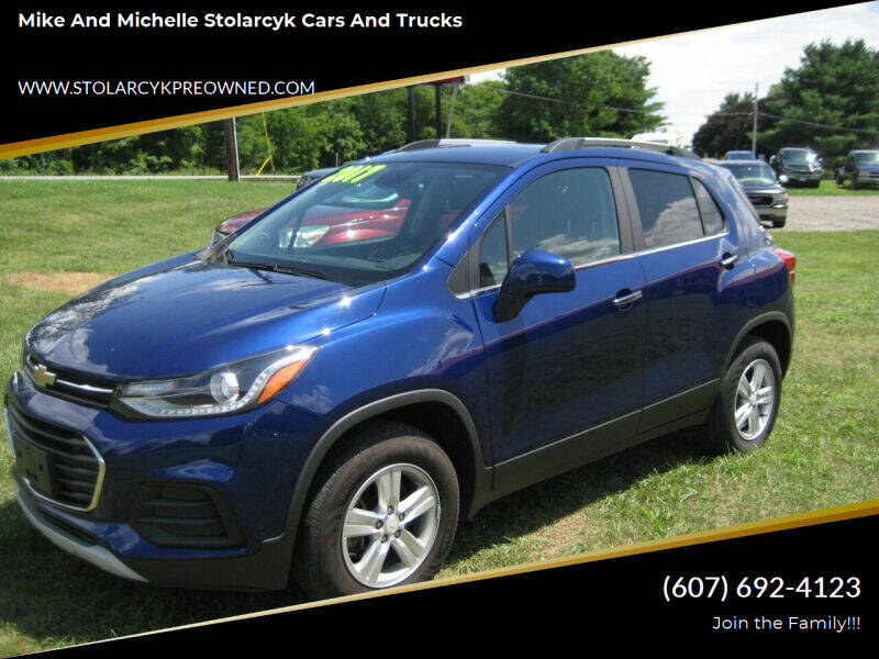 2017 Chevrolet Trax for sale at Mike and Michelle Stolarcyk Cars and Trucks in Whitney Point NY