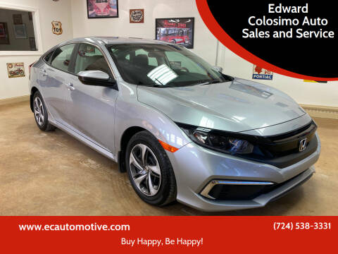 2020 Honda Civic for sale at Edward Colosimo Auto Sales and Service in Evans City PA