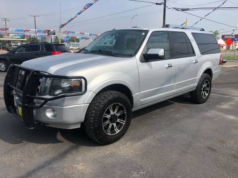 2013 Ford Expedition EL for sale at Rock Motors LLC in Victoria TX