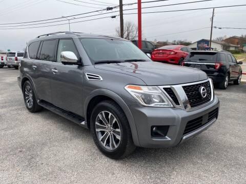 2019 Nissan Armada for sale at LLANOS AUTO SALES LLC in Dallas TX
