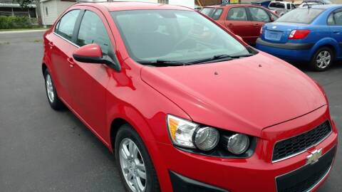 2012 Chevrolet Sonic for sale at Graft Sales and Service Inc in Scottdale PA
