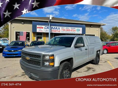 2015 Chevrolet Silverado 1500 for sale at Cromax Automotive in Ann Arbor MI