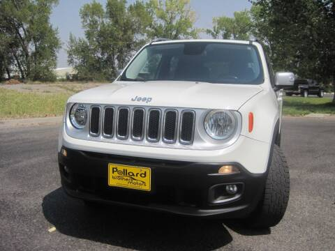 2016 Jeep Renegade for sale at Pollard Brothers Motors in Montrose CO