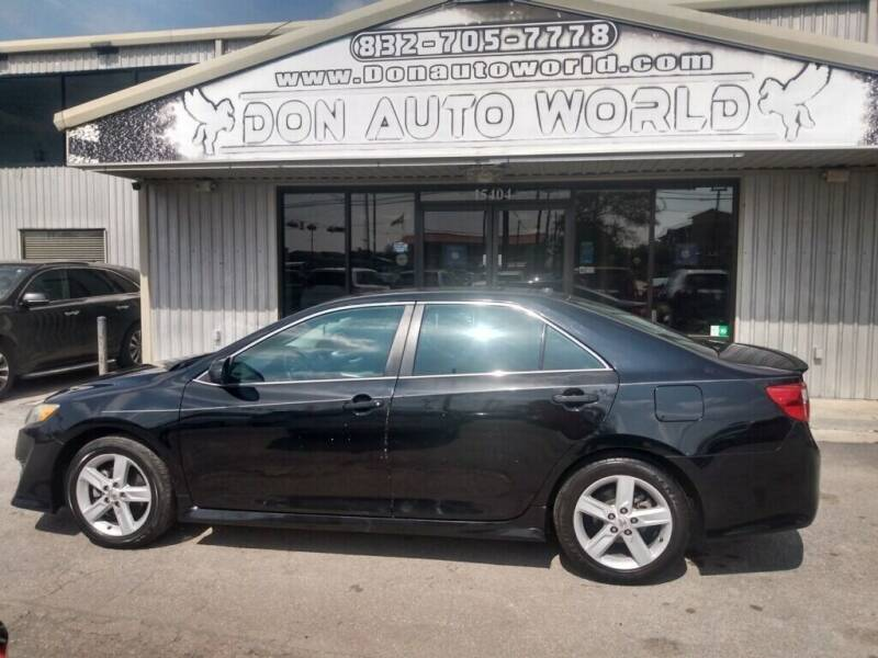 2013 Toyota Camry for sale at Don Auto World in Houston TX