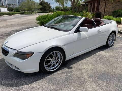 2005 BMW 6 Series for sale at Mirabella Motors in Tampa FL