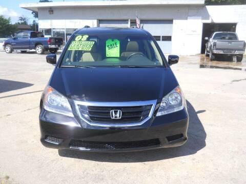 2008 Honda Odyssey for sale at Shaw Motor Sales in Kalkaska MI