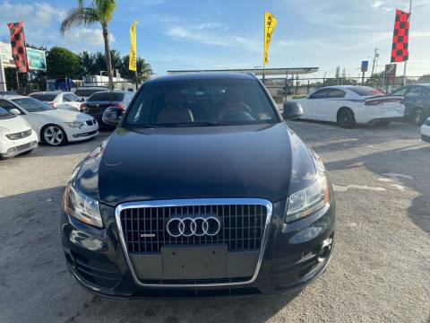 2012 Audi Q5 for sale at America Auto Wholesale Inc in Miami FL